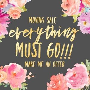 Other - Moving sale! Save with bundles!